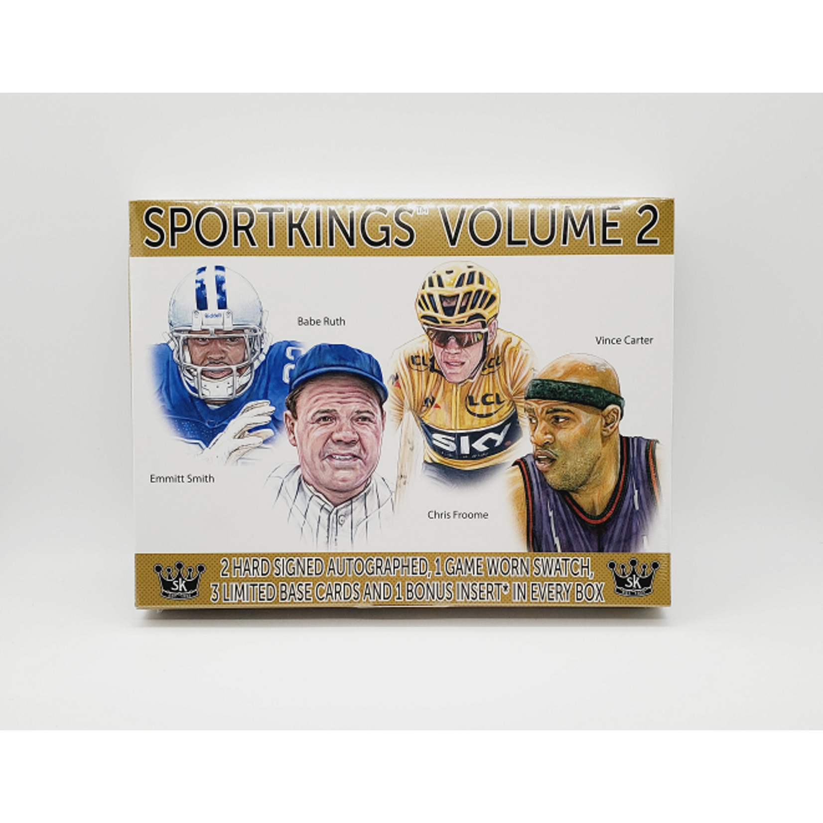 SAGE Collectibles 2021 Sage Sportkings Volume 2 Hobby Box