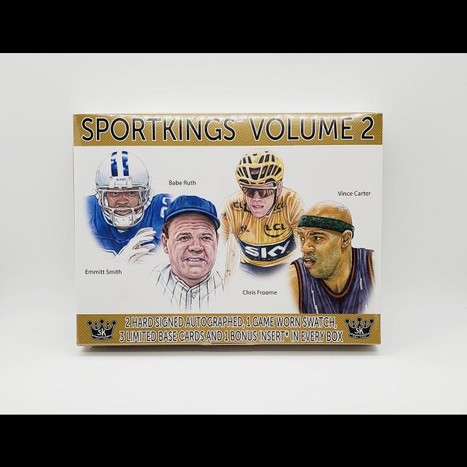 2021 Sage Sportkings Volume 2 Hobby Box