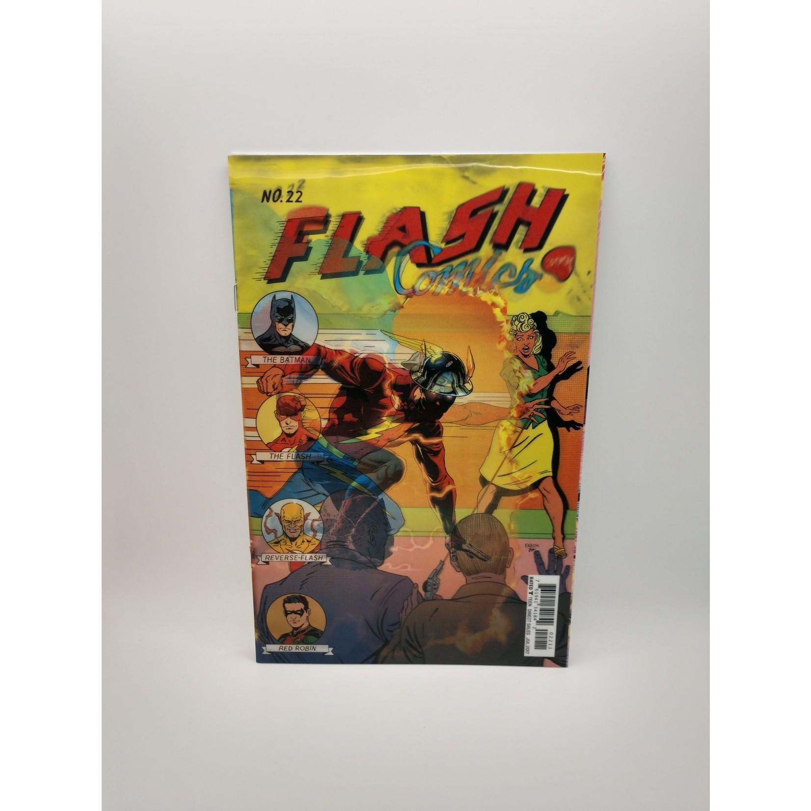 Flash #22 Lenticular Variant Edition