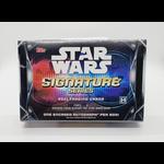 Topps 2021 Topps Star Wars Signature Series Hobby Box