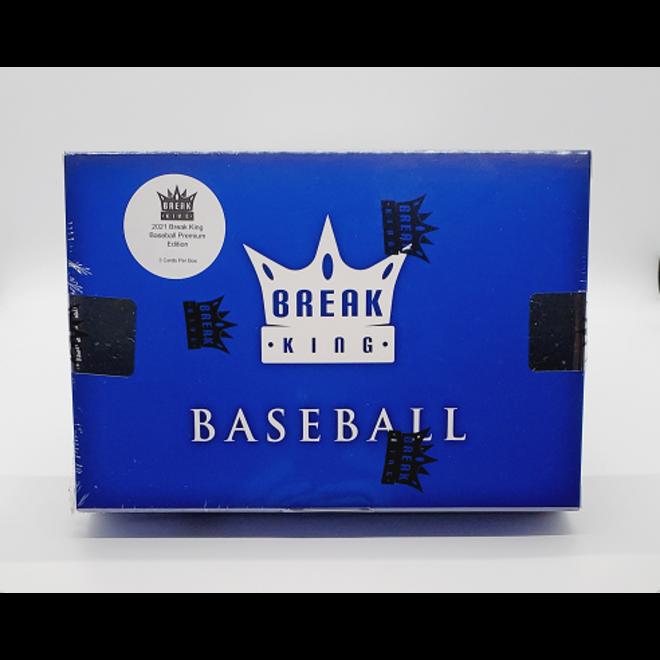 2021 Break King Baseball Premium Edition Hobby Box