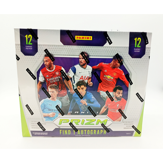 2020-21 Panini Prizm English Premier League Soccer Hobby Box