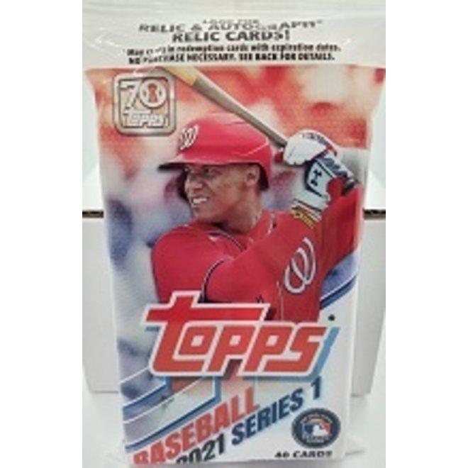 2021 Topps Series 1 Baseball Fat Pack