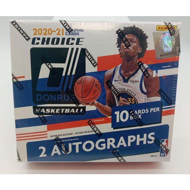 2020-21 Donruss Choice Basketball Hobby Box