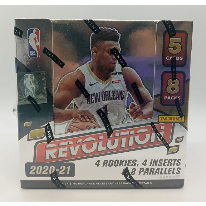 2020-21 Panini Revolution Basketball Hobby Box
