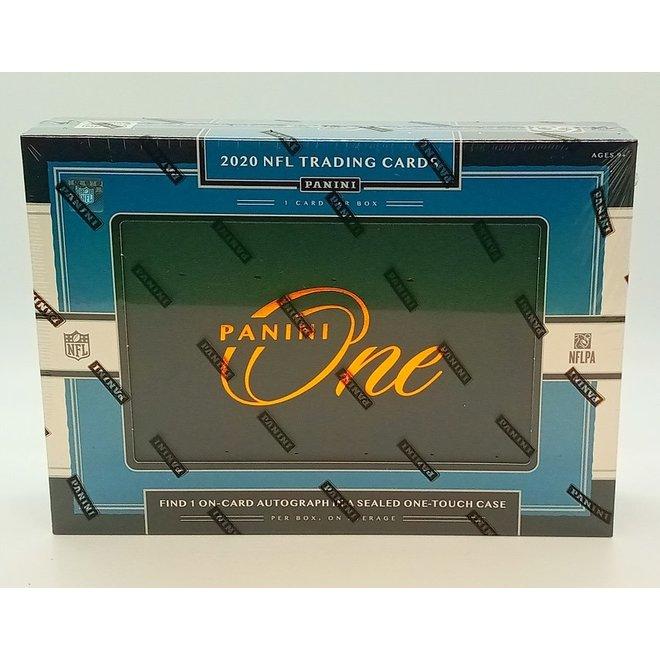 2020 Panini One Football Hobby Box
