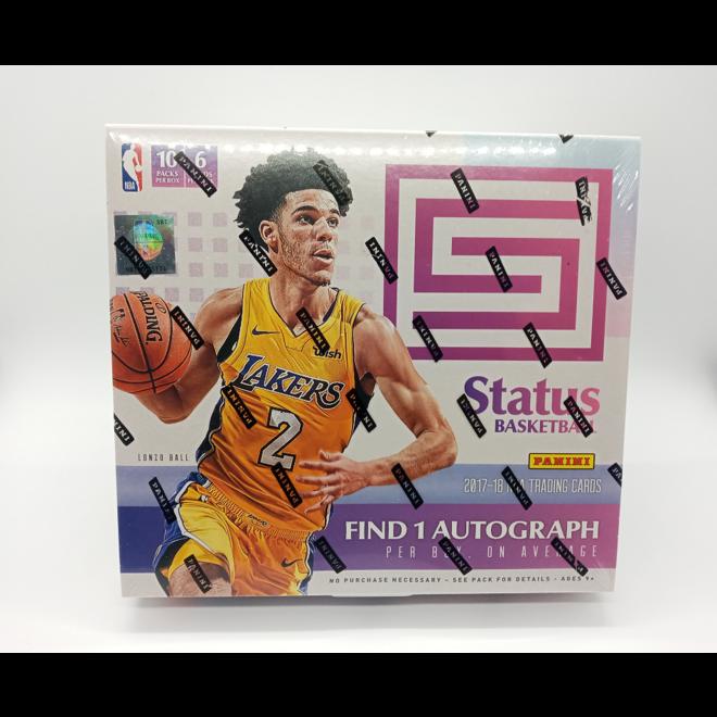 2017-18 Panini Status Basketball Hobby Box