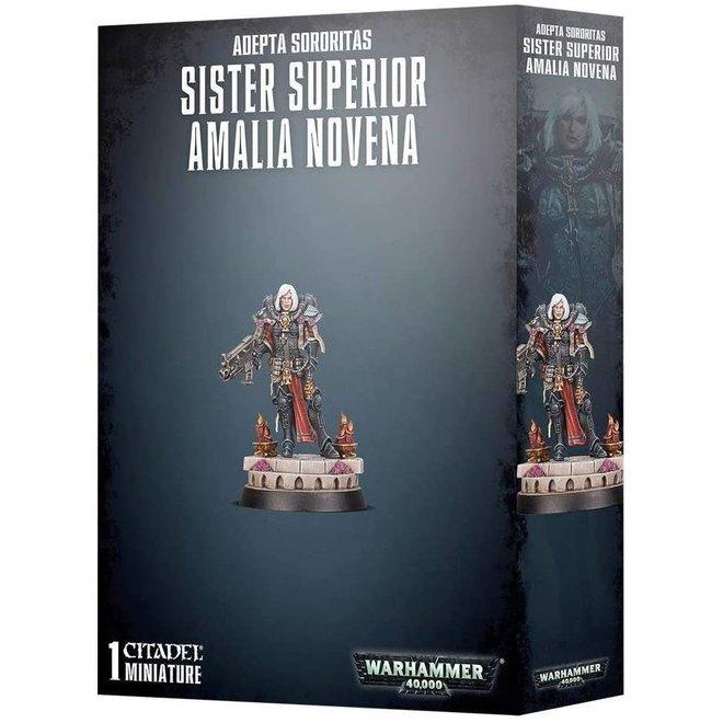 Adepta Sororitas: Sister Superior  Amalia Novena