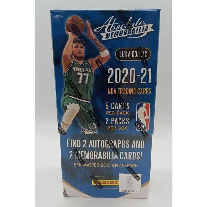 2020-21 Panini Absolute Memorabilia Basketball Hobby Box