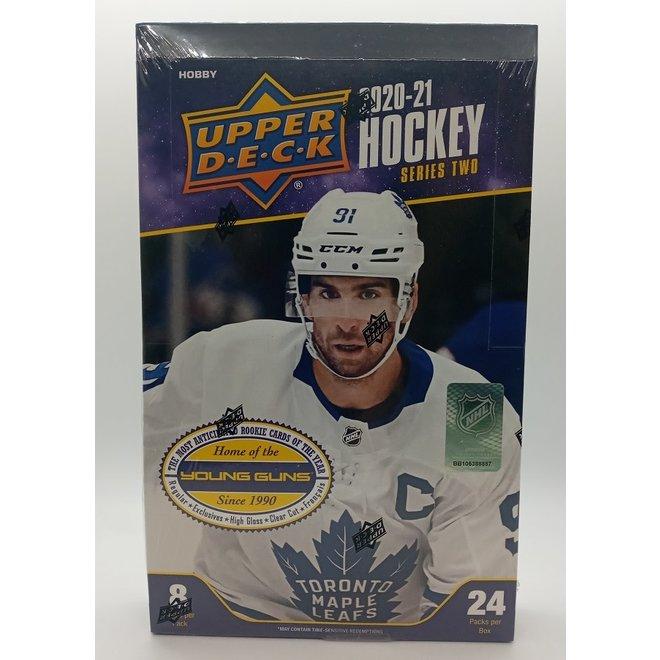 2020-21 Upper Deck Hockey Series 2 Hobby Box