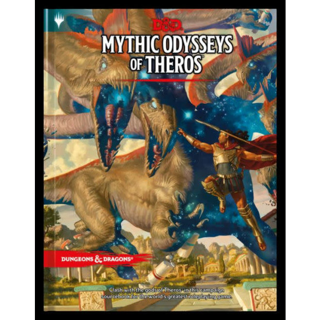 Dungeons & Dragons: 5th Edition - Mythic Odysseys of Theros