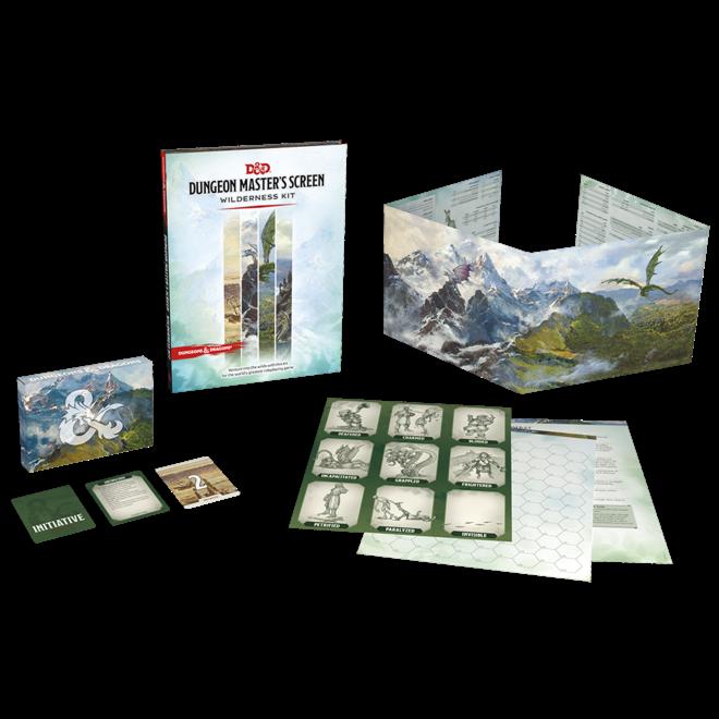 D&D: 5E - DM Screen Wilderness Kit