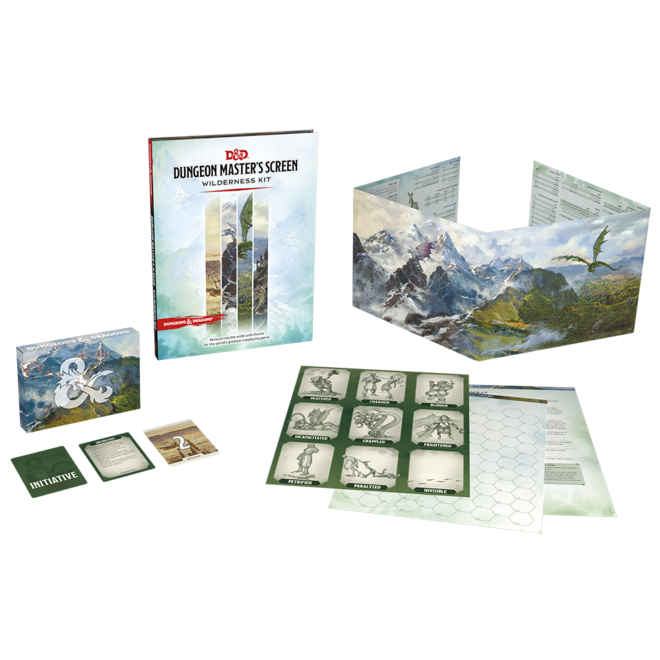 Dungeons & Dragons: 5th Edition - DM Screen Wilderness Kit