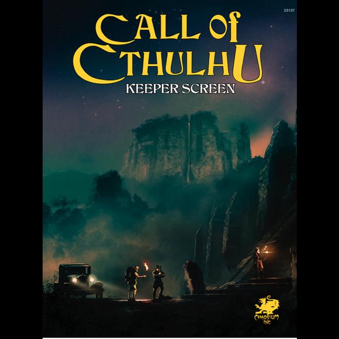 Call of Cthulhu: 7E - Keeper Screen Pack