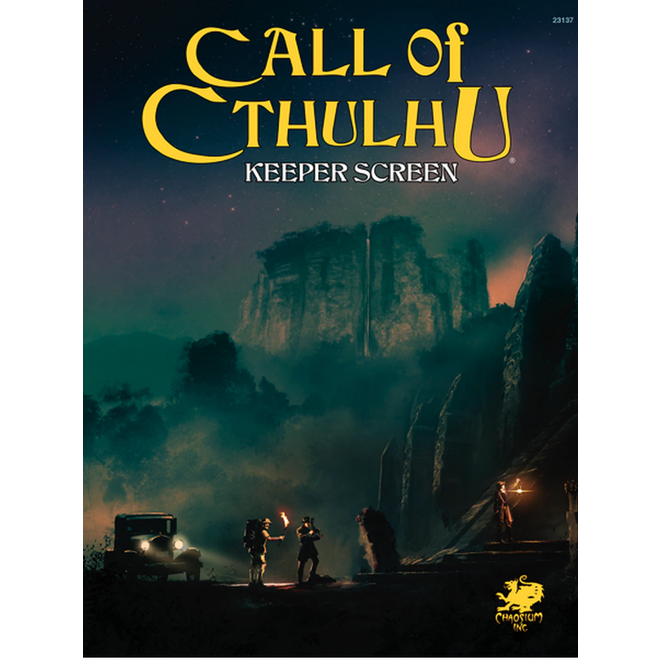 Call of Cthulhu: 7th Edition - Keeper Screen Pack