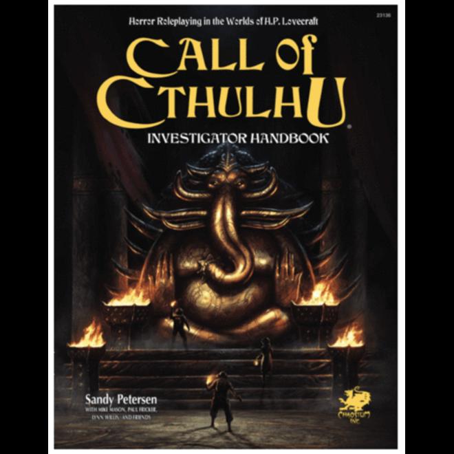 Call of Cthulhu: 7th Edition - Investigator Handbook
