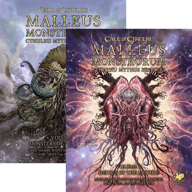 Call Of Cthulhu: 7th Edition - Malleus Monstrorum Slipcase Set