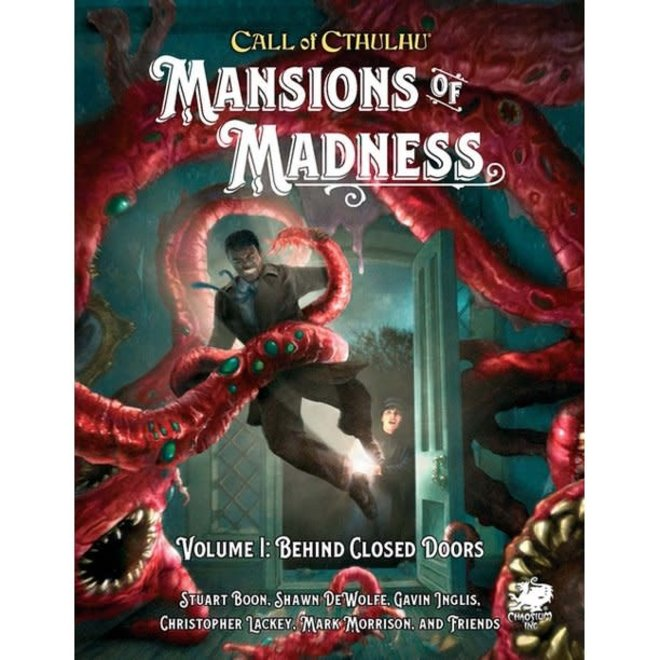 Call of Cthulhu 7E: Mansions of Madness Vol 1 Behind Closed Doors