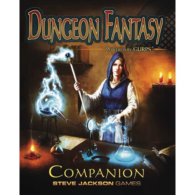 GURPS: 4th Edition - Dungeon Fantasy Companion Softcover