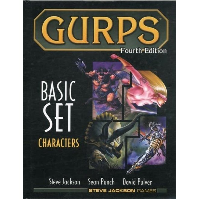 GURPS: 4th Edition - Basic Set Characters Hardcover