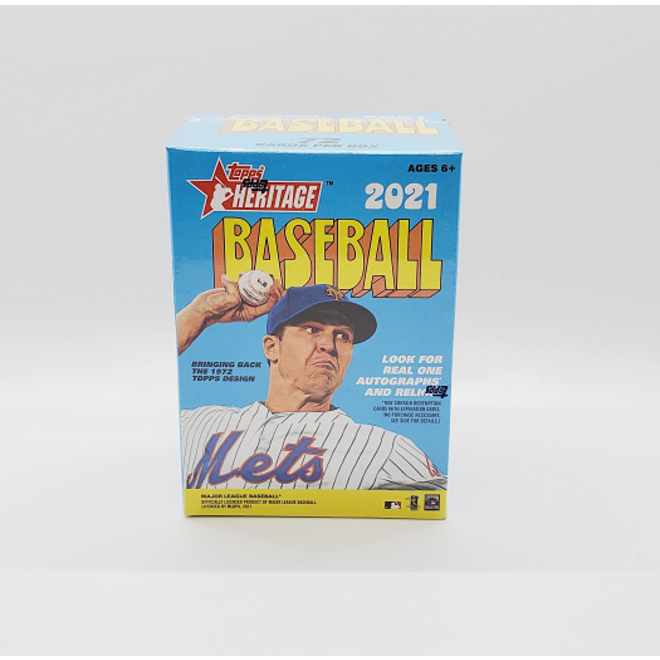 2021 Topps Heritage Baseball Blaster Box