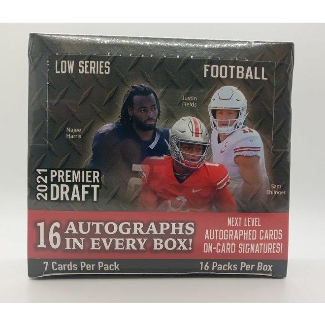 2021 Sage Hit Football Premier Draft Low Series Hobby Box