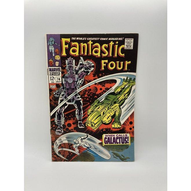 Fantastic Four #74 (1968) Galactus & Silver Surfer