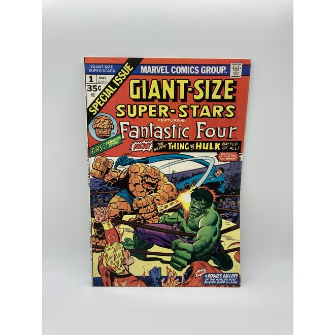 Giant Size Super Stars #1 (1974),Hulk vs Thing