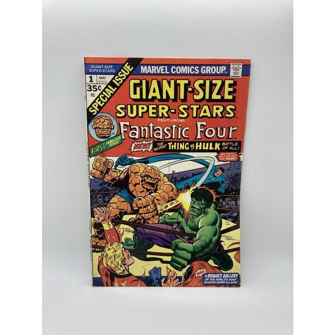 Giant Size Super Stars #1 (1974) Hulk vs Thing
