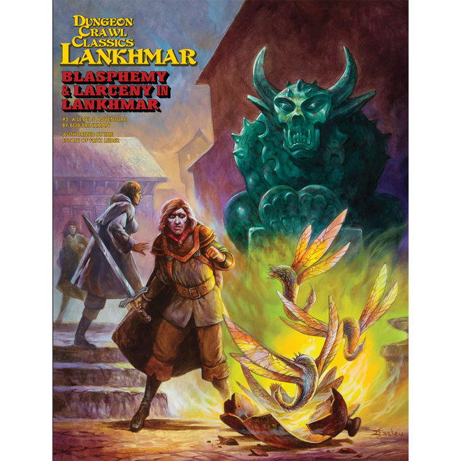 Dungeon Crawl Classics: Lankhmar - #5 Blasphemy & Larceny In Lankhmar