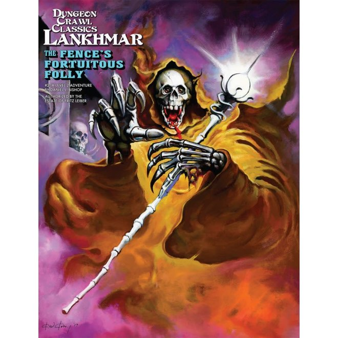 Dungeon Crawl Classics: Lankhmar - #2 The Fence's Fortuitous Folly