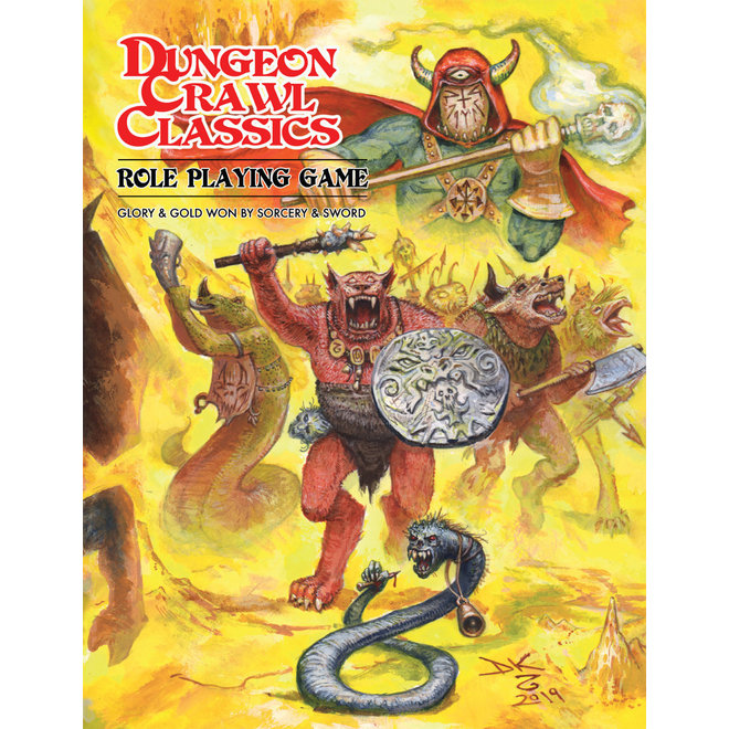 Dungeon Crawl Classics - Core Rulebook: Beastman Edition Softcover