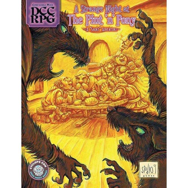 Dungeon Crawl Classics - A Strange Night at the Pint 'n' Pony