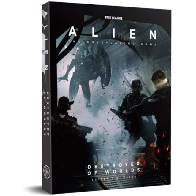 Alien the RPG - Destroyer of Worlds Boxed Adventure