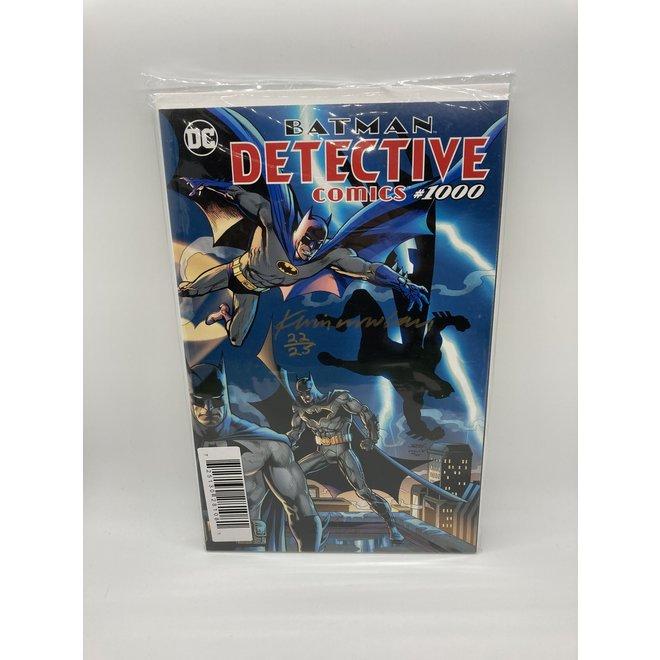 Batman Detective Comics #1000, Kevin Nowlan signed/Dave Jurgens Cover