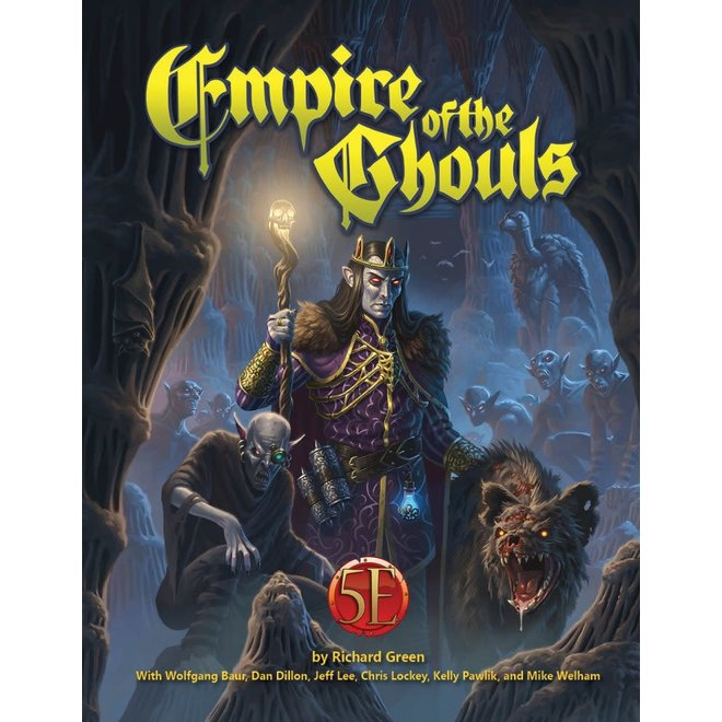 Dungeons & Dragons: 5E - Empire of the Ghouls 5E