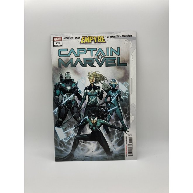 Captain Marvel #20 Emp,1st App Accuser Corps
