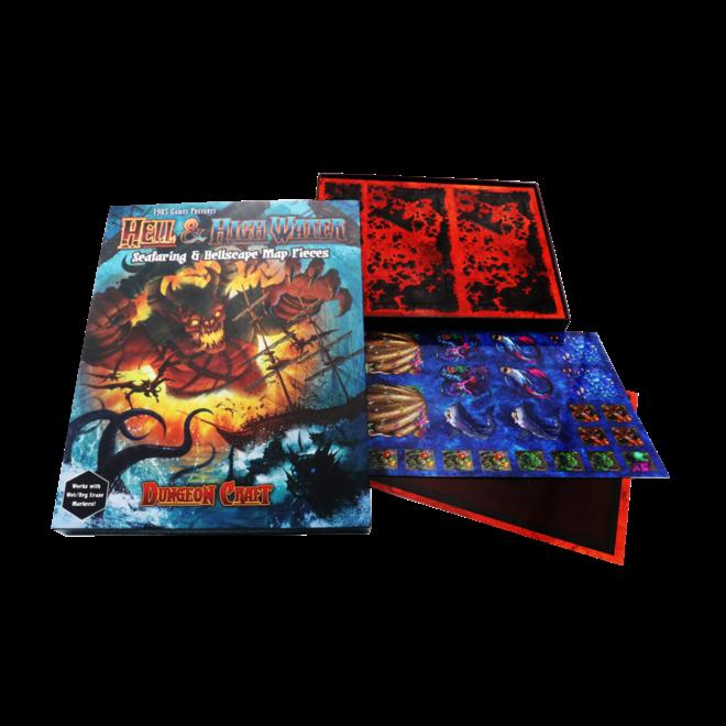 Dungeon Craft - Hell & High Water Book