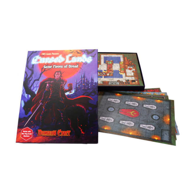 Dungeon Craft - Cursed Lands Book