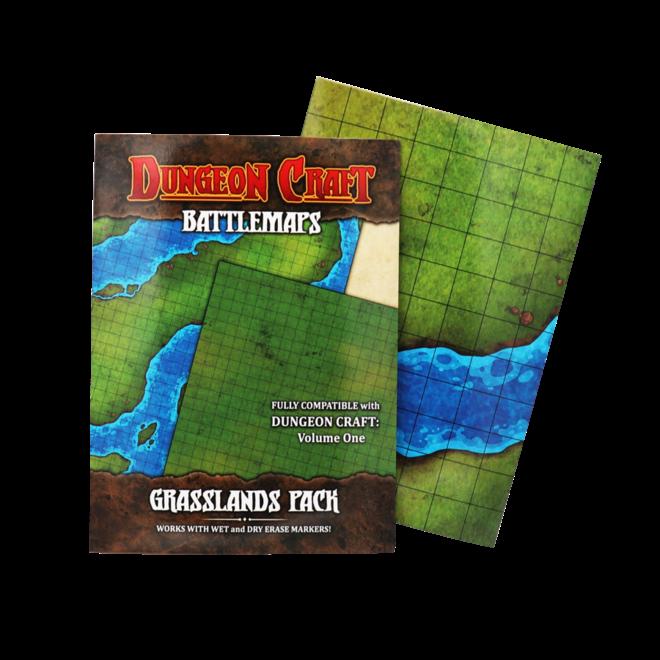 Dungeon Craft: Battle Maps - Grasslands