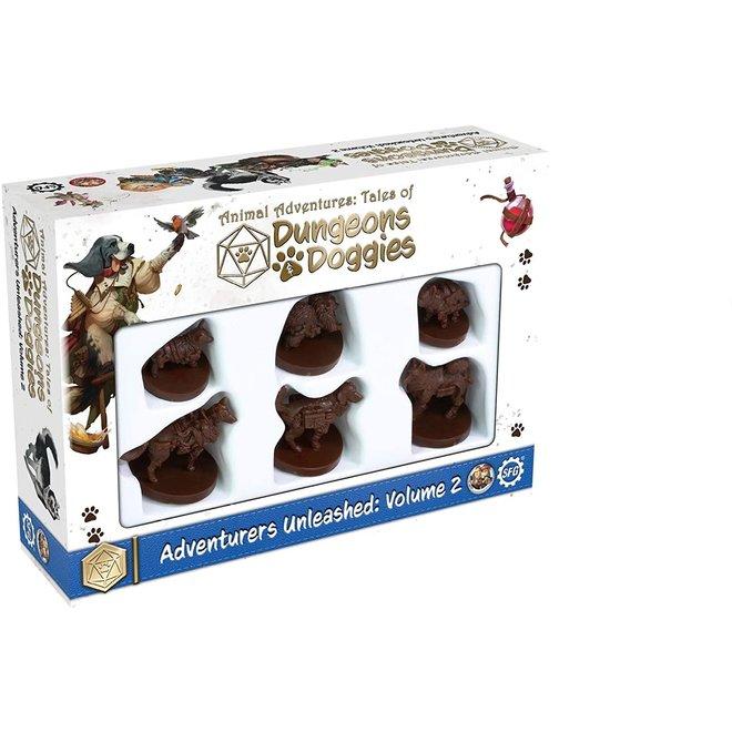 Animal Adventures RPG: Dungeons & Doggies - Volume 2 Miniatures