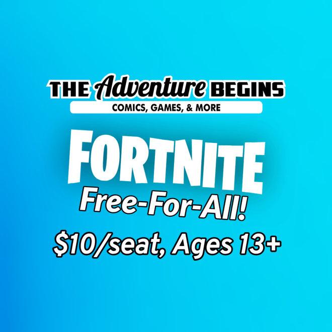 Fortnite Tournament Entry