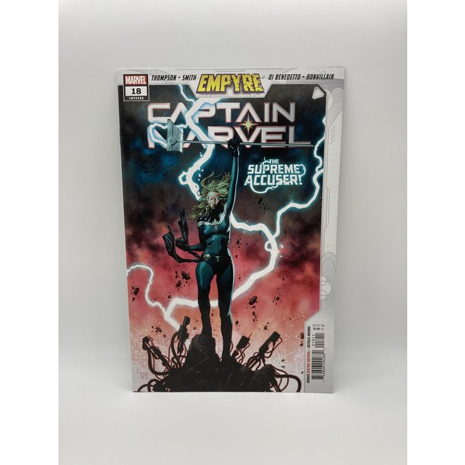 Captain Marvel #18 Empyre, 1st appearance of Lauri-Ell
