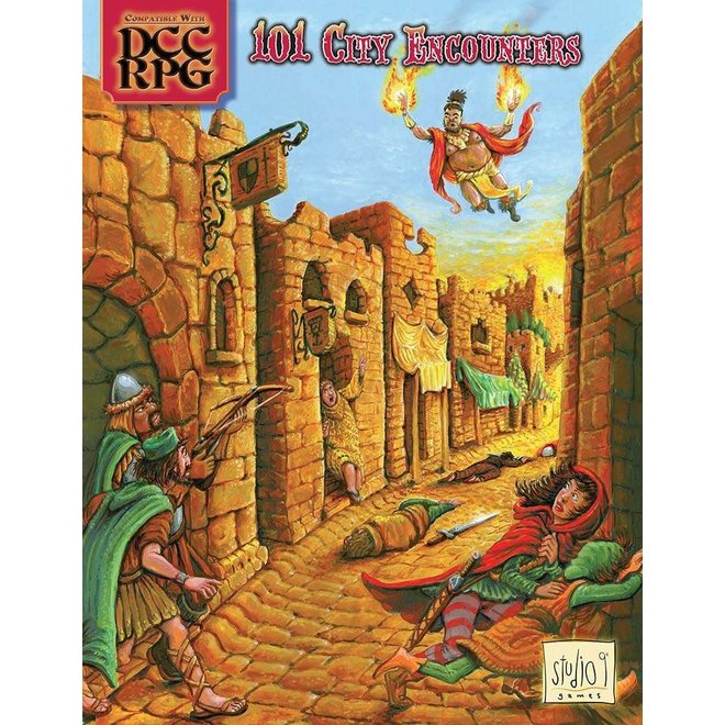 Dungeon Crawl Classics - 101 City Encounters
