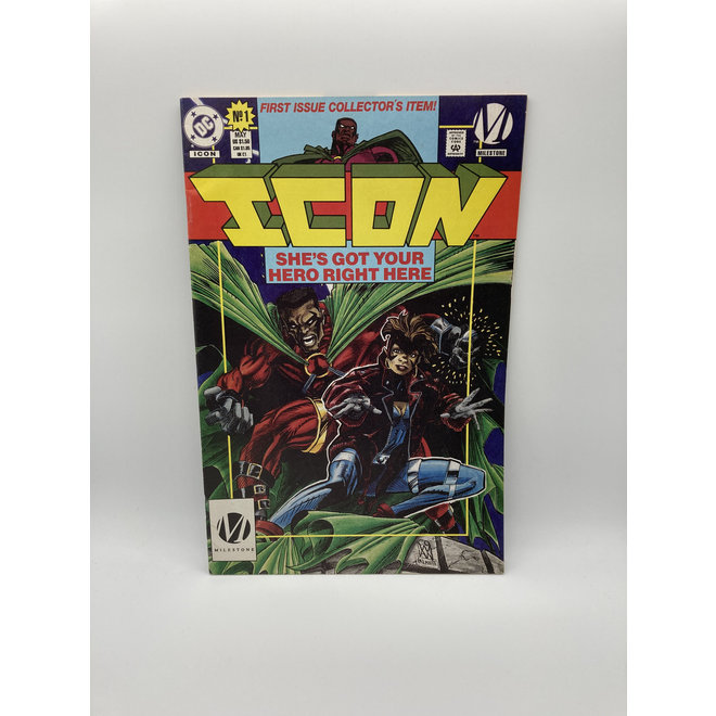Icon #1 Newsstand Ed, Static Preview