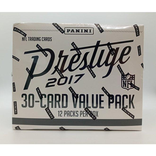 2017 Panini Prestige Football Fat Pack Box