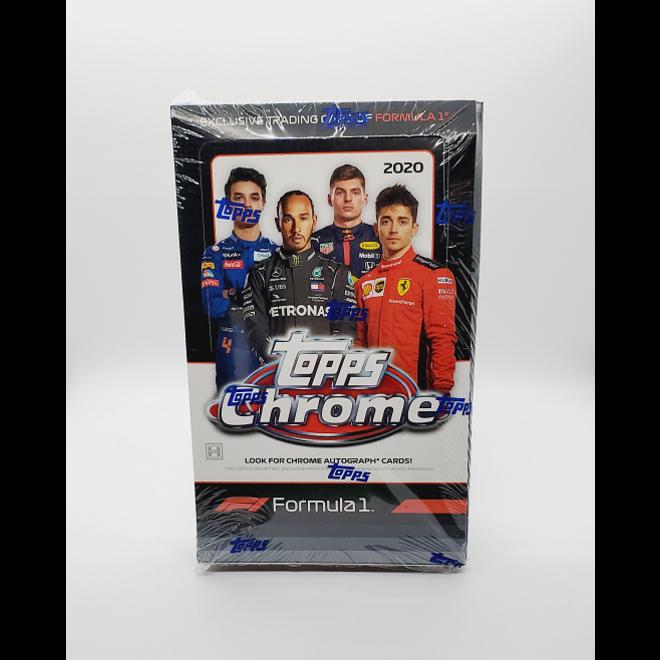2020 Topps Formula 1 Chrome Hobby Box