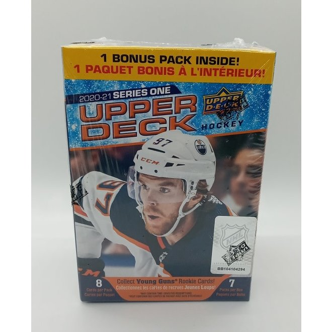 2020-21 Upper Deck Hockey Series 1 Blaster Box