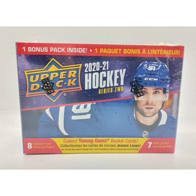 2020-21 Upper Deck Hockey Series 2 Blaster Box