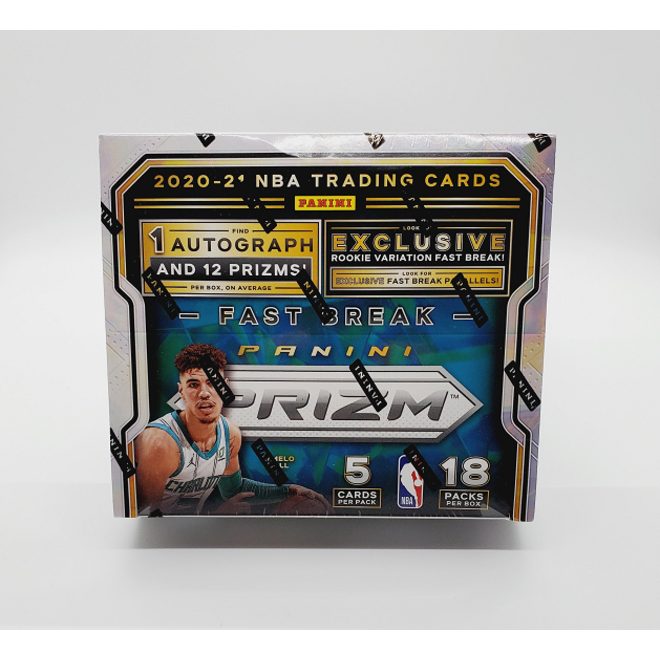 2020-21 Panini Prizm Basketball Fast Break Hobby Box